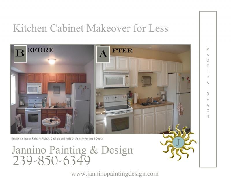 Kitchen Cabinet Painting Bonita Springs Naples Fort Myers Beach Marco Island +