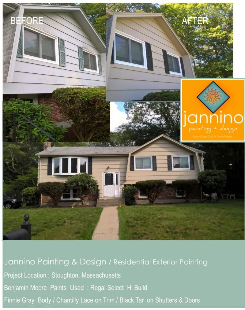 Affordable Exterior Painting Hingham Cohasset Hull Massachusetts