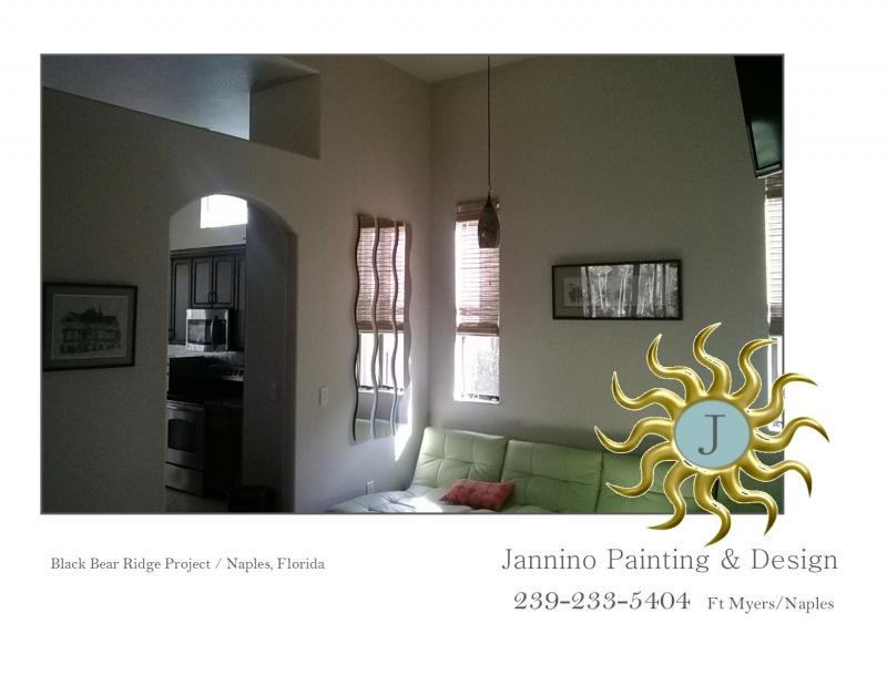 Black Bear Ridge Naples FL Painter Jannino Painting and Design