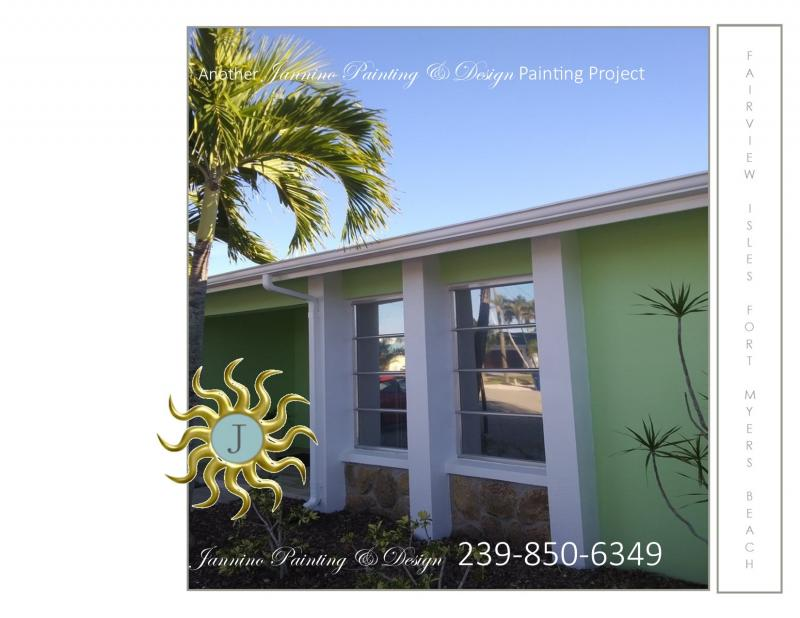 Painter for your Fairview Isles home on Fort Myers Beach Florida