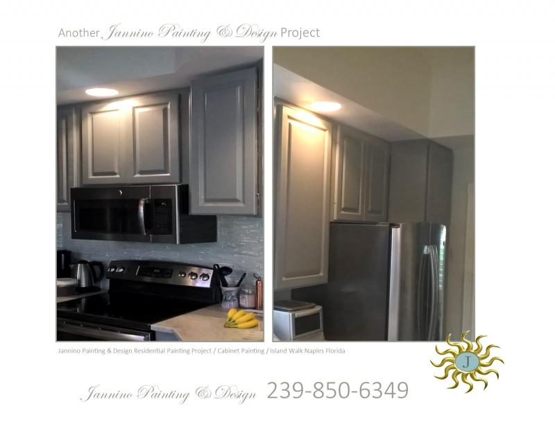 Kitchen Cabinet Bathroom Vanity or Built-In Cabinetry Painting Bonita Springs FL