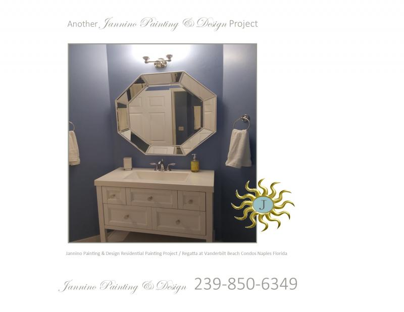 Bathroom Painting by Affordable Painter Naples Florida Regatta at Vanderbilt