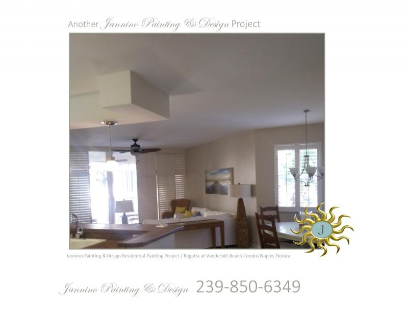 Affordable Condo Painting by Sober Painter Vanderbilt Beach Naples FL 34108
