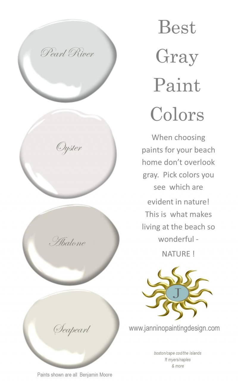 Best Gray Paint Colors for Your Home Cohasset Naples Sanibel Weston