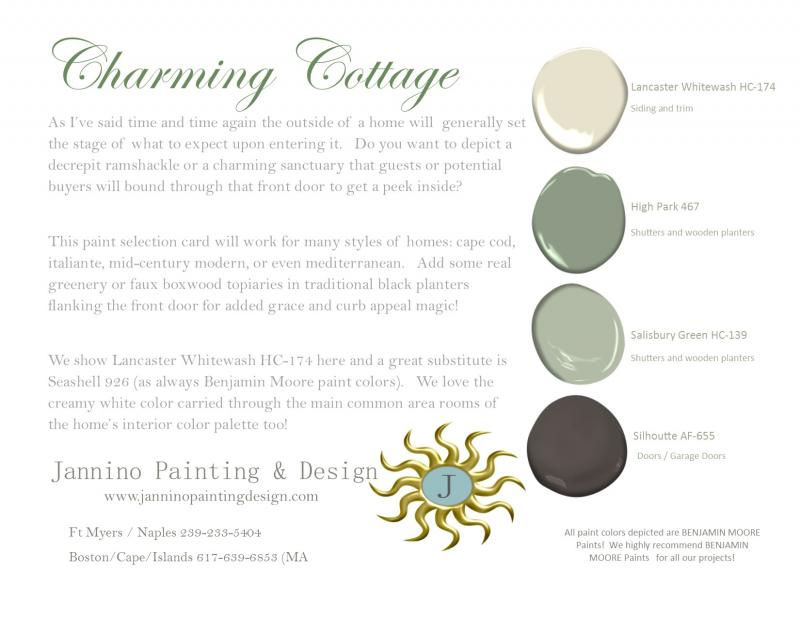 Charming Cottage Exterior Paint Colors for Naples Fort Myers Beach Sanibel