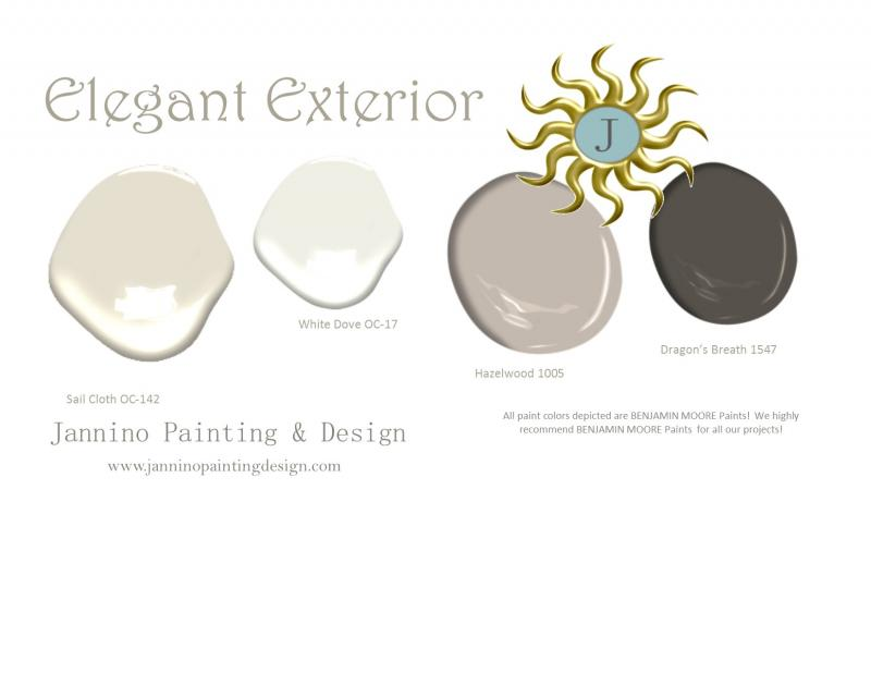 Elegant Exterior Paint Colors for your home in Naples, Florida or Hingham, MA