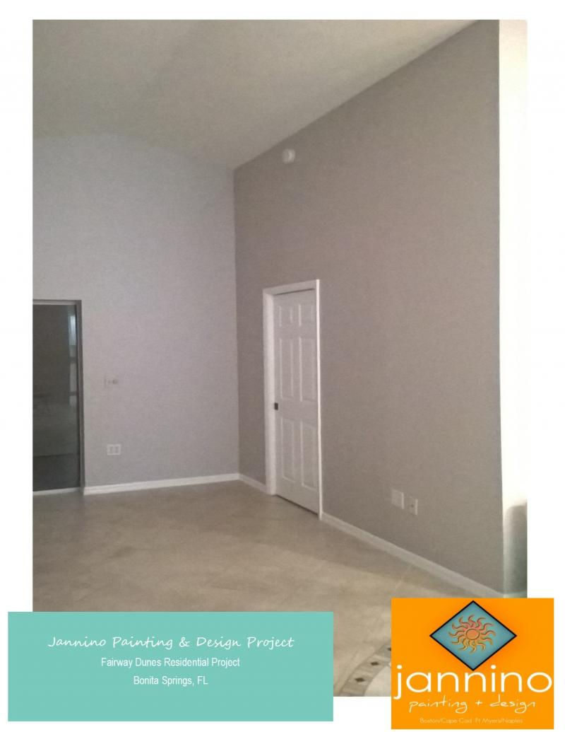 Jannino Painting + Design - Interior Residential Painting Project Fiddler's Creek Naples Florida