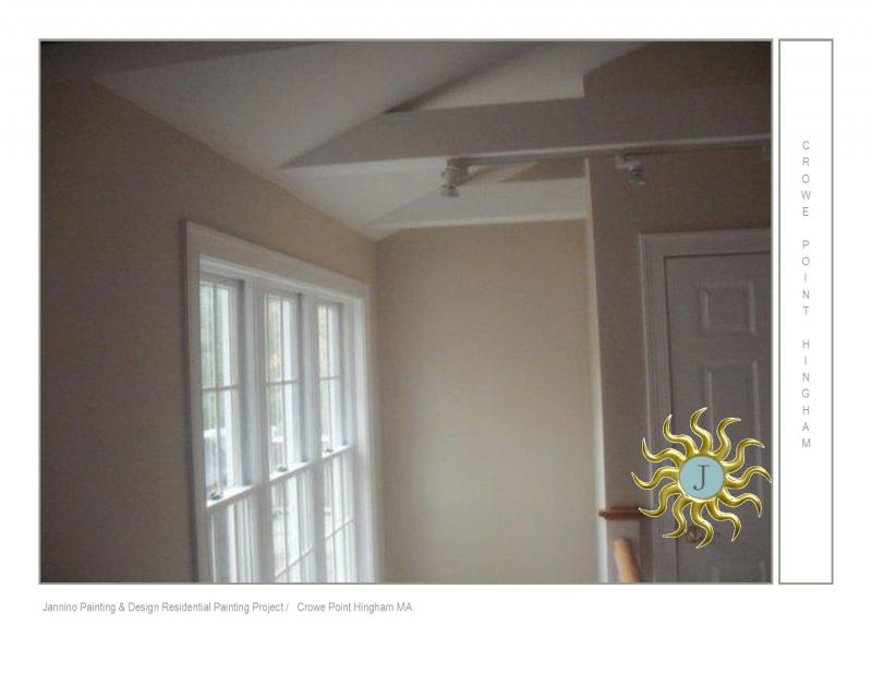 Affordable Interior Painter Crowe Point Hingham Cohasset Duxbury MA