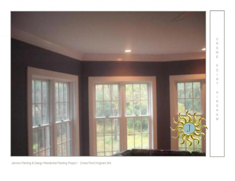 Hingham MA Interior Painter Jannino Painting & Design MA HIC 162406