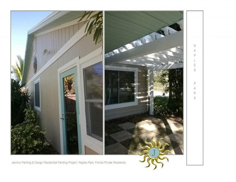 Exterior House Painting  North Naples Golden Gate Estates Naples Park