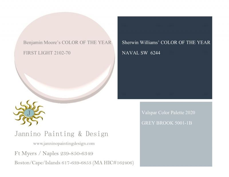 Colors of the Year 2020 for Your Bonita Springs, Naples, Marco Island Home