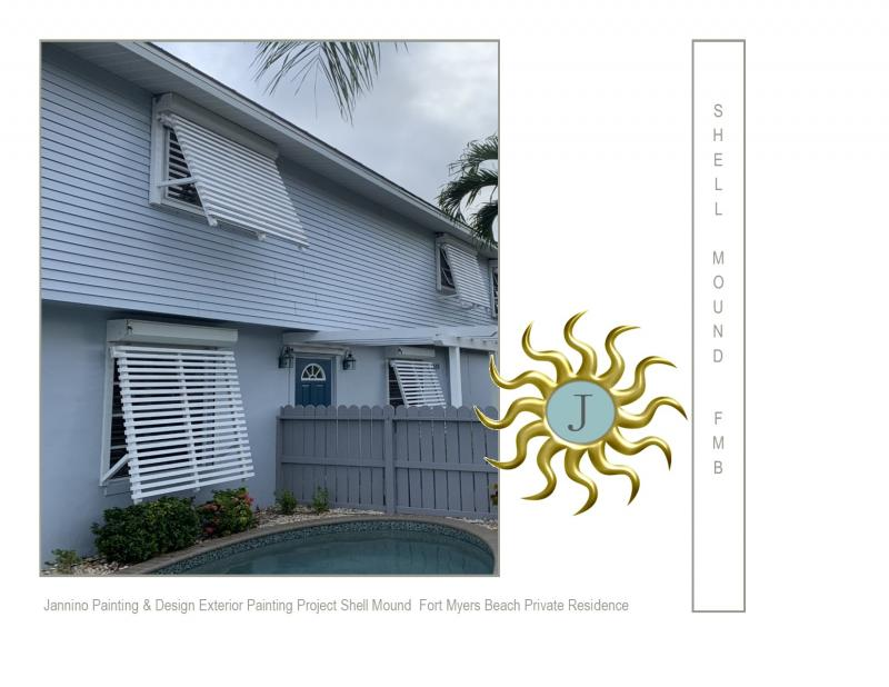 Exterior Painting Fort Myers Beach Shell Mound Area -  Affordable Painting