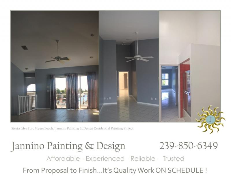 Siesta Isles Fort Myers Beach FL Painter Interior Exterior Specialty Painting
