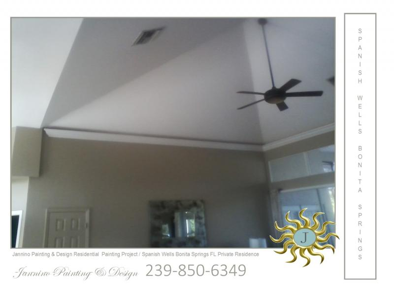 #1 Affordable Painter for your Vaulted Ceilings in Estero Bonita Springs Naples