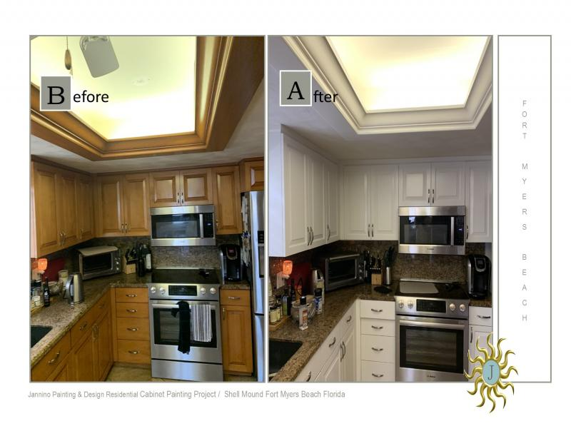 Cabinet Painting Bonita Springs Naples Estero Fort Myers Beach Marco Island