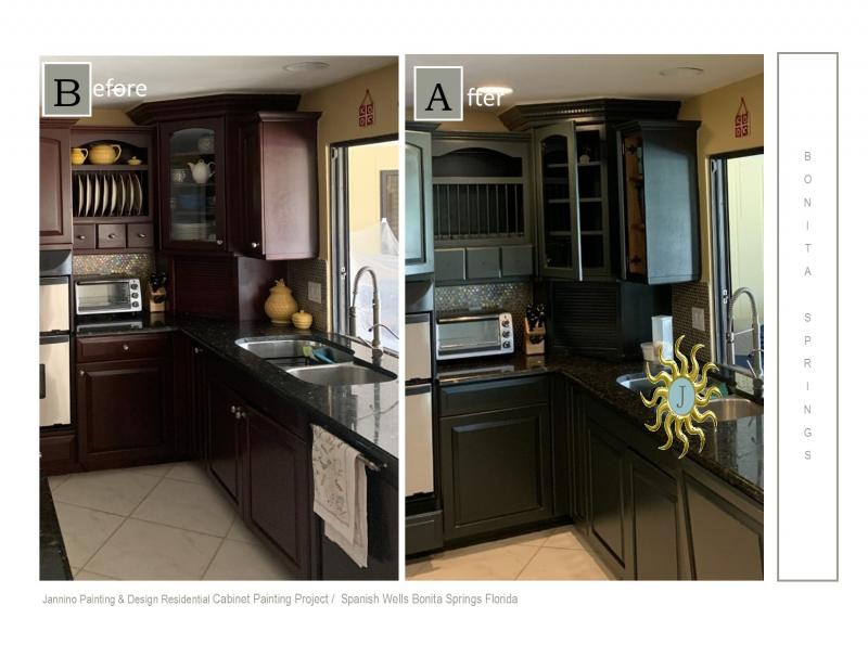 #1 Affordable Cabinet Painter Painting Bonita Springs Naples Fort Myers Beach