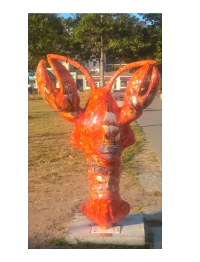 Plymouth Rock Lobster Jannino Painting Design Blog photo by c davis jannino