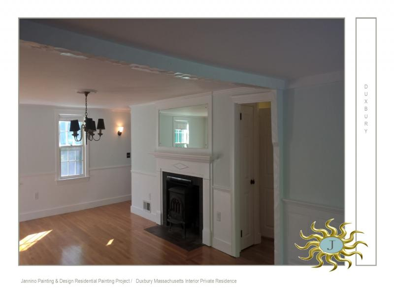 interior painting duxbury massachusetts benjamin moore sea foam
