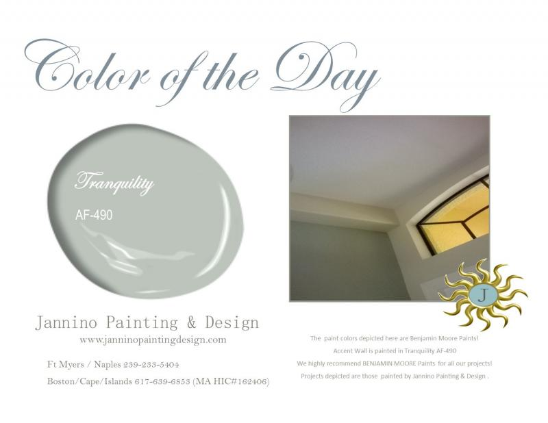 Benjamin Moore Paints used by this Bonita Springs  Naples Painter